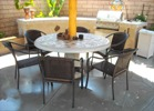 Concrete Tile Table