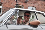 I cruised with Dag Henriksen in Jorg's Anthracite 1963 Sunroof