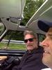 Driving back with Tom Reay
